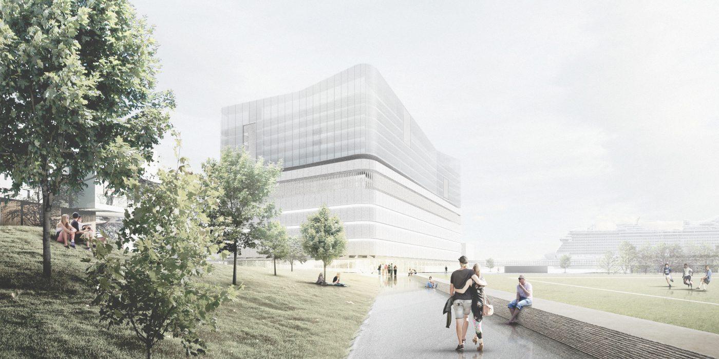 Jätkäsaari Bunkkeri 1.st Prize Design in Process