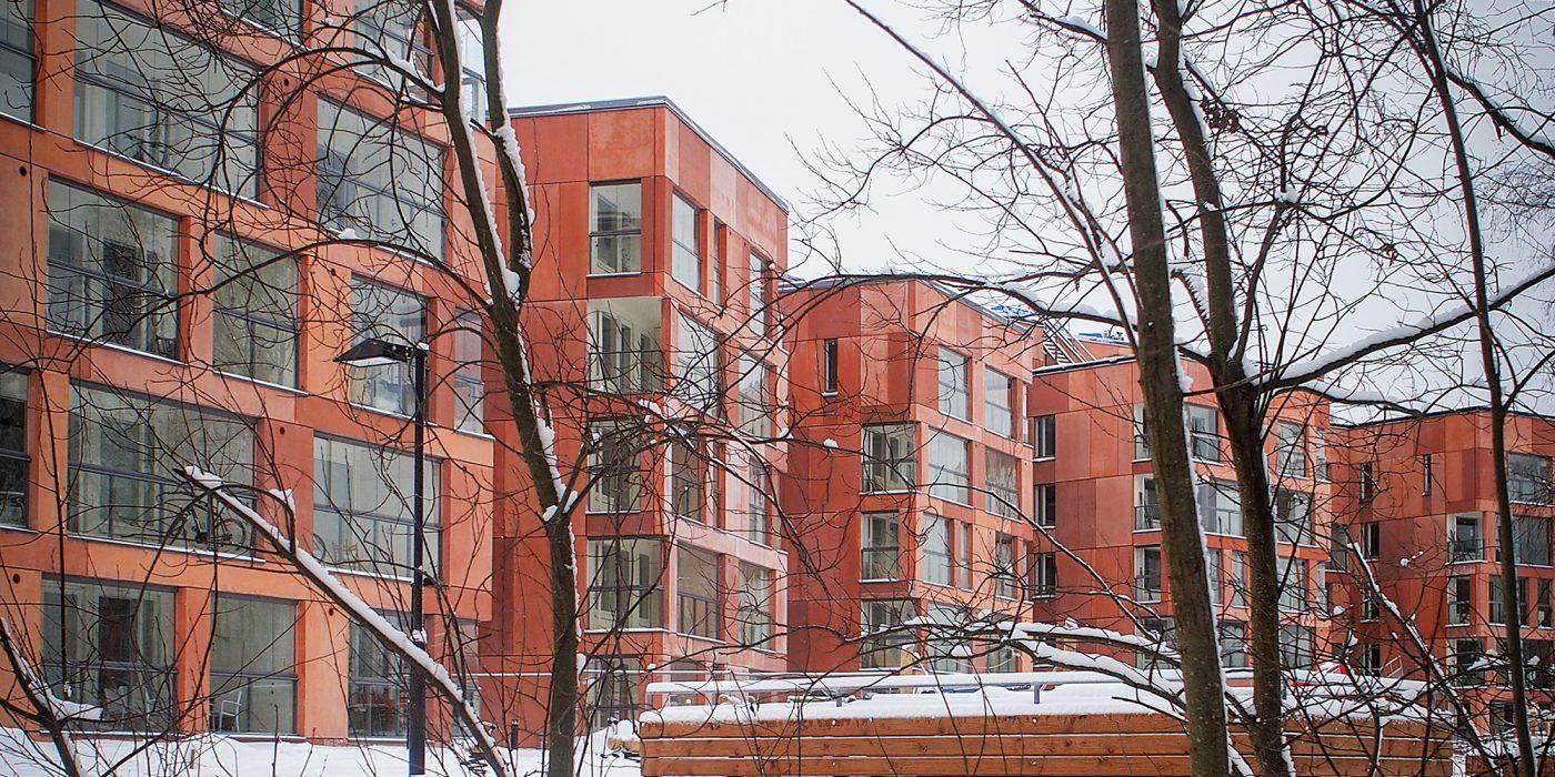Pukinmäki 1.st Prize Housing Completed