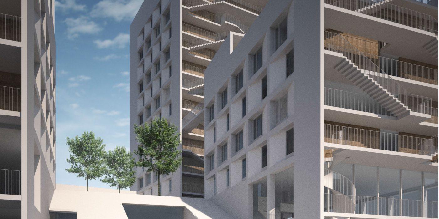 HOAS Hybrid Block Design Started