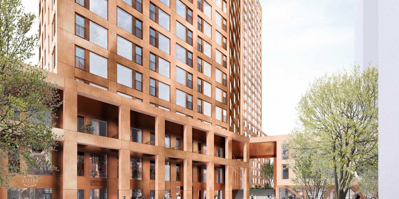 Delfiinikortteli Hi-rise Design in Process